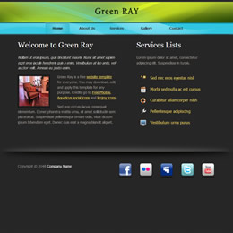 Green Ray template