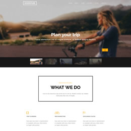 Adventure Bootstrap Theme